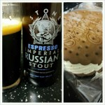 Espresso Imperial Stout with Ice Cream Sandwich