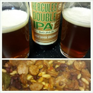 Hercules IPA with Cassoulet