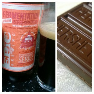 Imperial Pumpkin Porter with Dark Chocolate