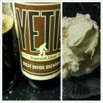 Yeti with Ice Cream