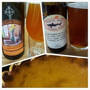Pairing Beer with Pumpkin Pie
